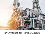 industrial zone the equipment... | Shutterstock . vector #546303001
