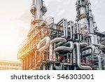 industrial zone the equipment... | Shutterstock . vector #546303001