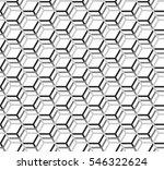 Shaded Honeycomb Pattern ...
