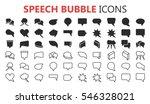 simple modern set of speech...