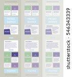 corporate vector layout... | Shutterstock .eps vector #546343339