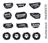 ink brush sale stripes and... | Shutterstock .eps vector #546350575