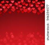 red heart valentine's day...