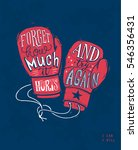 """forget how much it hurts and... 