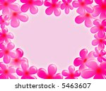 a pastel background with... | Shutterstock . vector #5463607