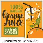 vector banner with a glass of... | Shutterstock .eps vector #546363871