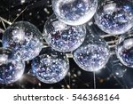 Disco Balls On The Ceiling
