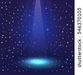 vector empty vivid lighting... | Shutterstock .eps vector #546370105