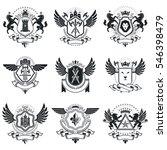 vintage award designs  vintage... | Shutterstock . vector #546398479