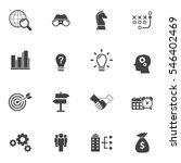 business solutions   vector... | Shutterstock .eps vector #546402469