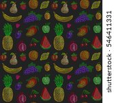 raster seamless pattern of... | Shutterstock . vector #546411331