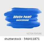 art brush painted watercolor... | Shutterstock .eps vector #546411871