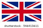 united kingdom flag. great... | Shutterstock .eps vector #546413611