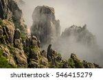 huangshan mountain  anhui  china | Shutterstock . vector #546415279