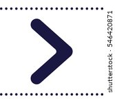 arrow icon  flat design style   Shutterstock .eps vector #546420871