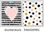 gold glitter typography. hand... | Shutterstock .eps vector #546430981