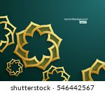 3d abstract background with... | Shutterstock .eps vector #546442567
