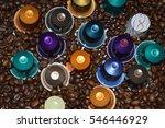 Multicolored Coffee Pod Capsul...
