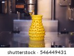 3d printer prints from the... | Shutterstock . vector #546449431