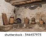 Basement Of An Old House With...