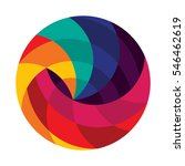 colorful shape designs | Shutterstock .eps vector #546462619