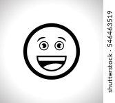 smile icon vector illustration...