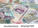 variety of middle east banknotes | Shutterstock . vector #546466789