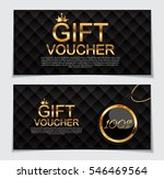 gift voucher template for... | Shutterstock .eps vector #546469564