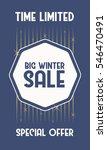 web banner winter sale special... | Shutterstock .eps vector #546470491