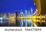 luxury scyscrapers under... | Shutterstock . vector #546475894