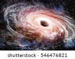 hole black space way fiction... | Shutterstock . vector #546476821
