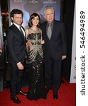 "Small photo of LOS ANGELES, CA. November 10, 2016: Actors Alden Ehrenreich, Lily Collins & actor/director Warren Beatty at premiere of ""Rules Don't Apply"" at the TCL Chinese Theatre"