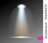 scene illumination show  bright ... | Shutterstock .eps vector #546496474
