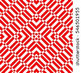 repeated red geometric figures... | Shutterstock .eps vector #546501955