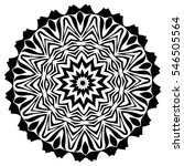 mandala. ethnic decorative... | Shutterstock .eps vector #546505564