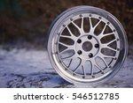 close up of rims car alloy... | Shutterstock . vector #546512785