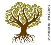 illustration of stylized... | Shutterstock . vector #546525541