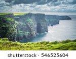 cliffs of moher beauty | Shutterstock . vector #546525604