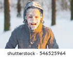 Portrait Of An Young Frozen Ma...