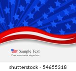 independence day background | Shutterstock .eps vector #54655318