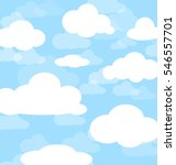 background of cloud and blue... | Shutterstock .eps vector #546557701