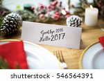 christmas cheers celebration... | Shutterstock . vector #546564391