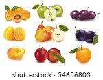 photo realistic vector... | Shutterstock .eps vector #54656803