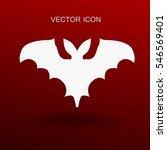 flying bat vector illustration | Shutterstock .eps vector #546569401