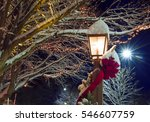 Beautiful Xmas Lanterns And...