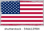 grunge usa flag.vintage... | Shutterstock .eps vector #546613984