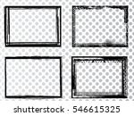 vector frames. rectangles for... | Shutterstock .eps vector #546615325