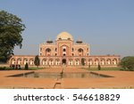 humayun's tomb  new delhi  india | Shutterstock . vector #546618829