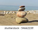 Balance in nature - stock photo