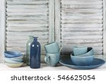 simple rustic kitchen still... | Shutterstock . vector #546625054